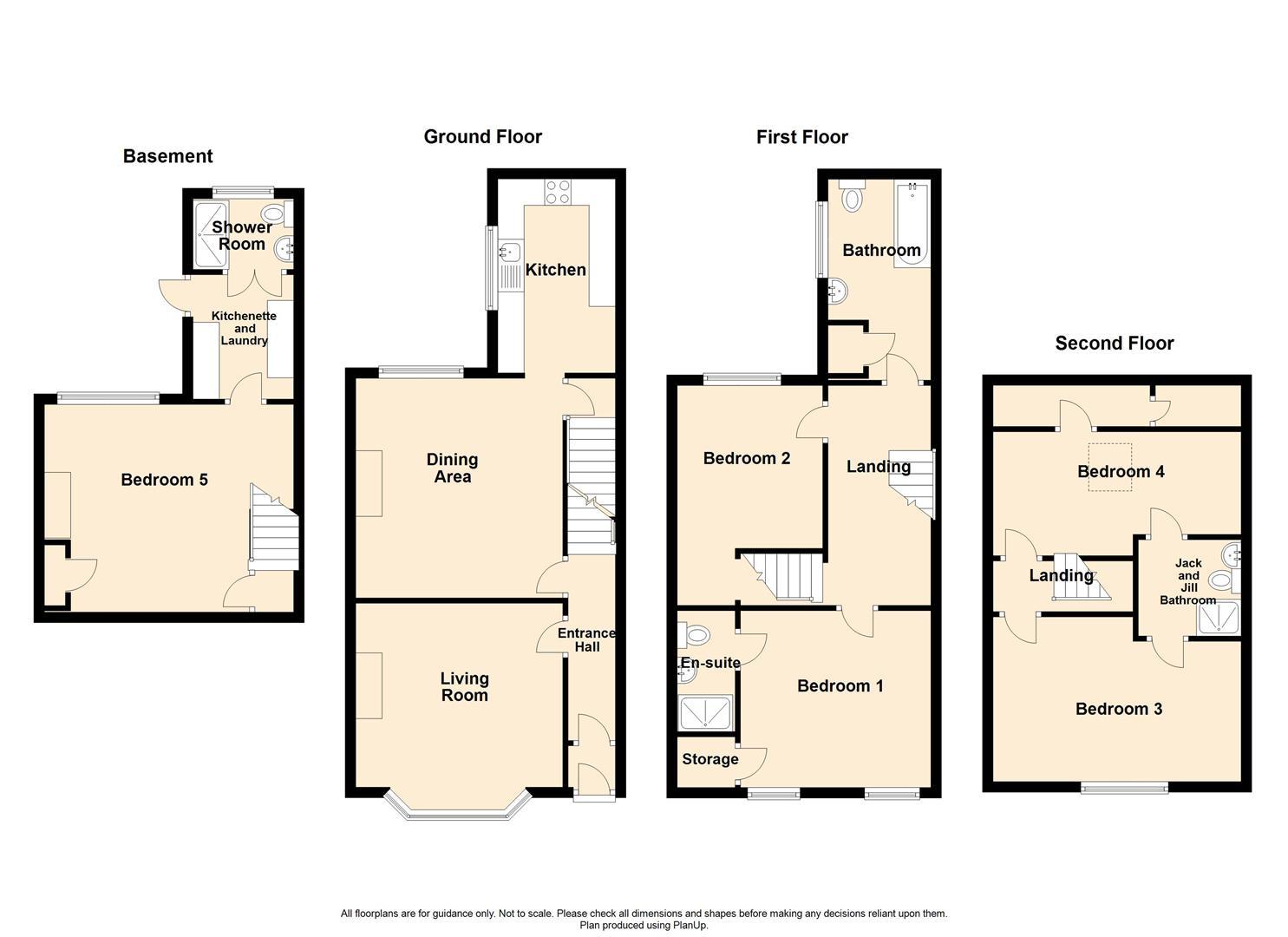 5 Bedroom Mid Terrace House For Sale - 100 Park Road, Chorley.JPG